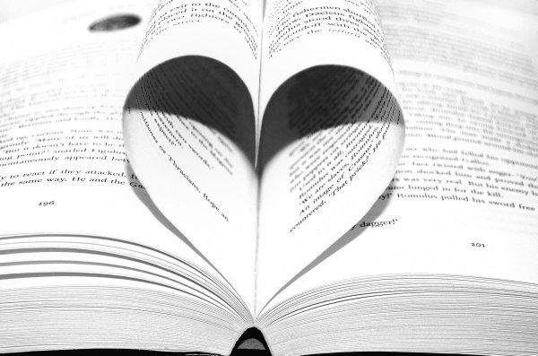 heart page
