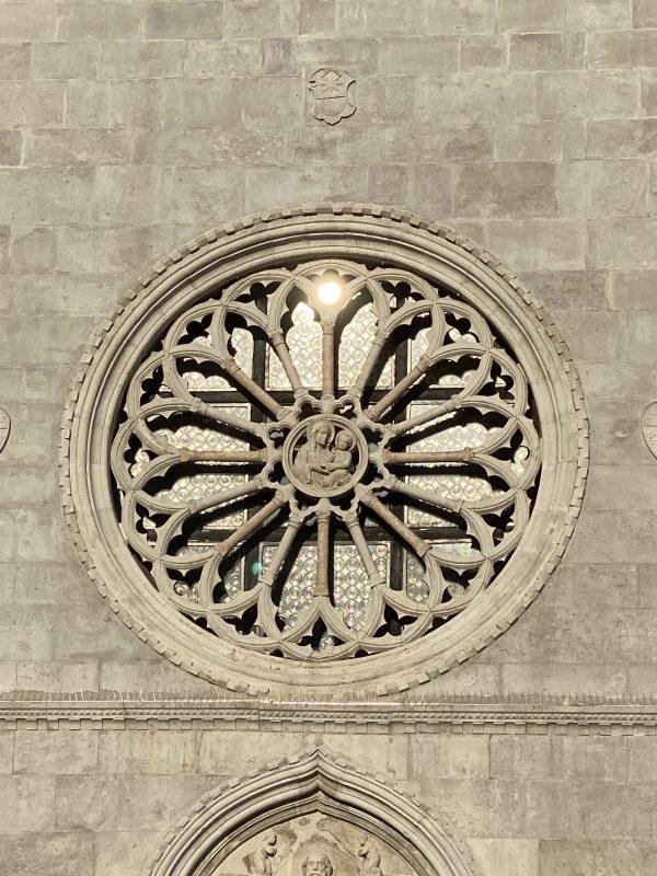 rose window, sun