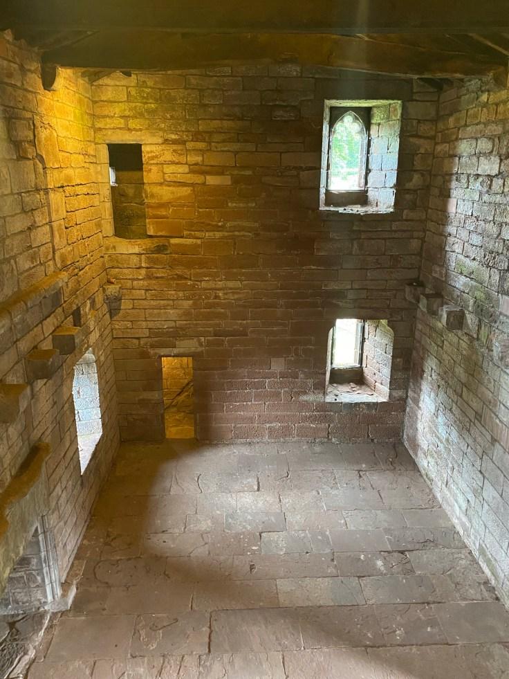 Priory Gatehouse interior