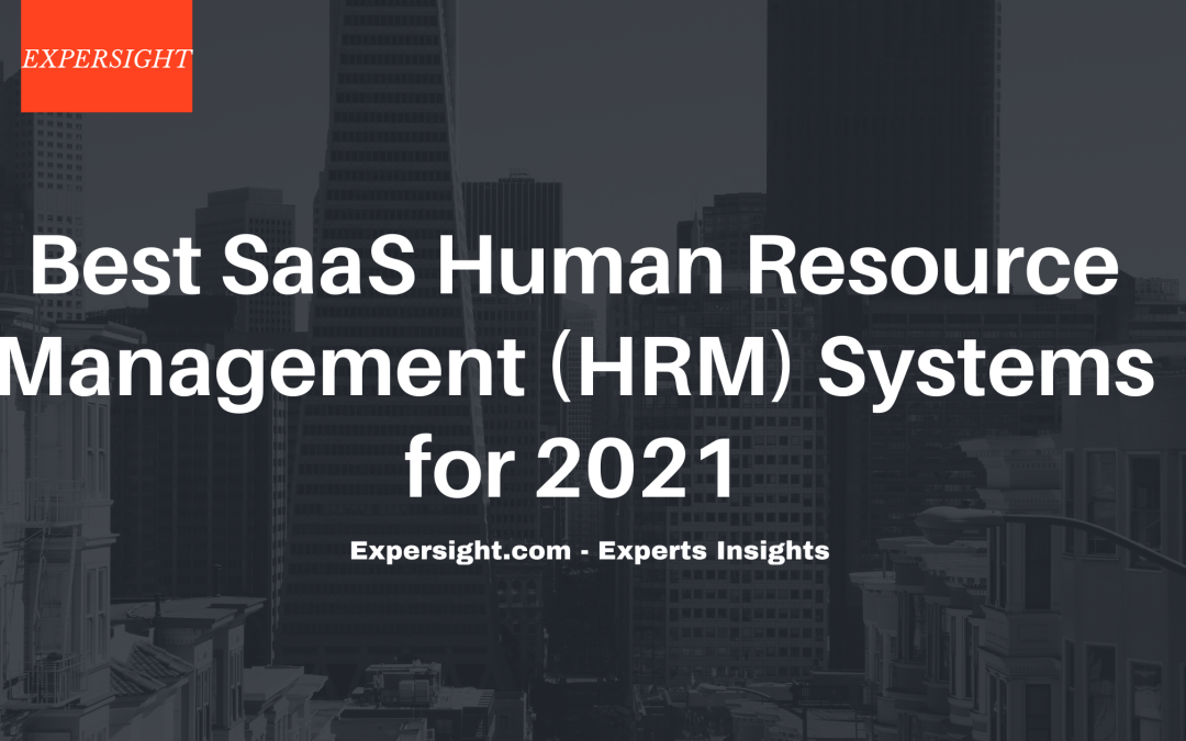 Best SaaS Human Resource Management (HRM) Software for 2021