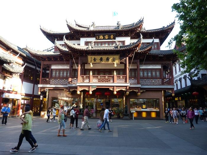 très beau bâtiment chinois représentant les arts asiatiques en Asie.
