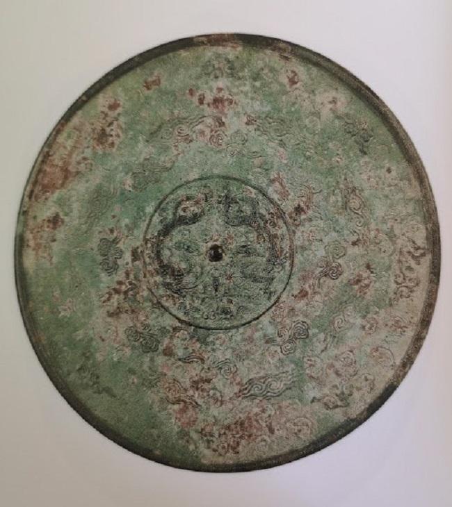 Disque miroir de la dynastie des Yuan (1271-1368)