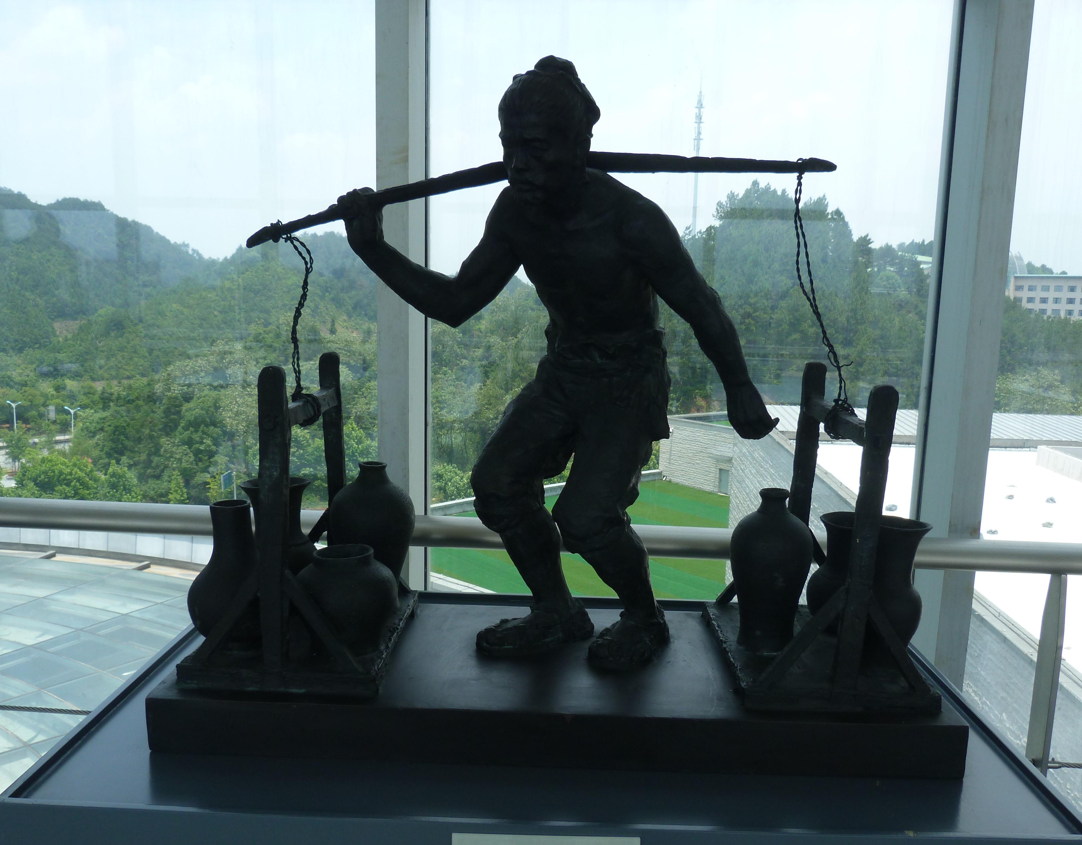 ouvrier de Jingdezhen
