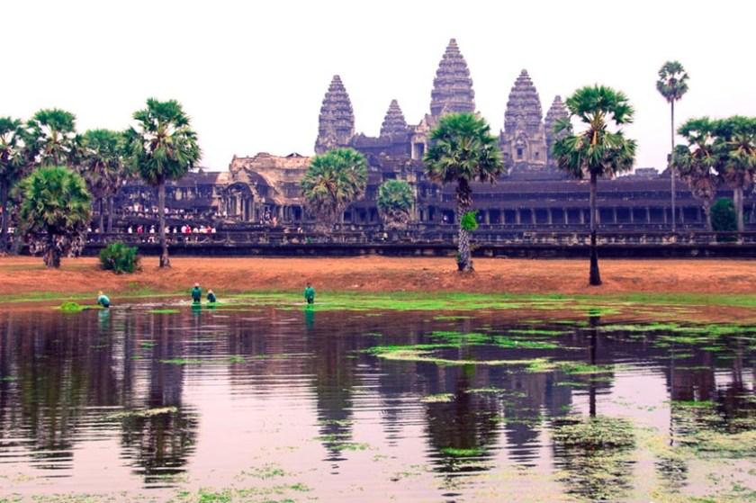 art cambodgien temple angkor