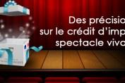 Compta-Theatre.com - Le crédit d'impôt spectacle vivant