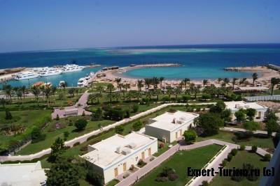 территория Бассейн Hilton Plaza 5*, Хургада, Египет