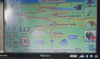По дорогам Италии, в Салерно