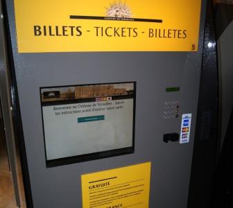 Билеты в музей (Версаль) можно оплатить картой