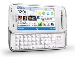 Nokia C6 в белом корпусе