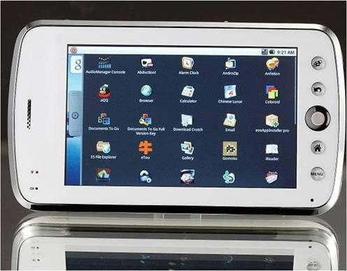 Aoson M500 - Android-смартфон с поддержкой Windows 98, 2000, 2003, XP, Vista, 7, Mac OS 9.1 и Linux 2.4