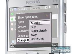 Microsoft Communicator Mobile на Nokia E72