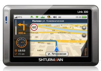 «МТС Навигатор Link 300» - первый GPS-навигатор от МТС