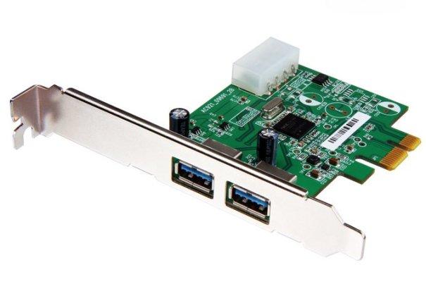 Transcend представляет плату расширения PCI Express USB 3.0