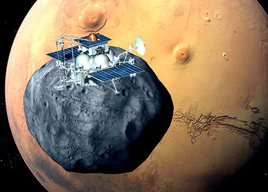 """Запуск аппарата """"Фобос-Грунт"""" будет управляться из Евпатории"""