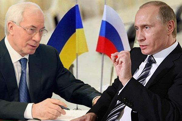 """Путин-Азарову: """"Что касается космоса, мы находимся в продвинутом состоянии"""""""