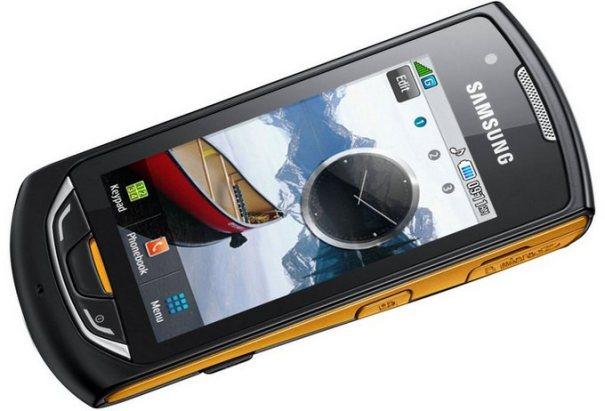 Samsung S5620 Monte имеет емкостной экран