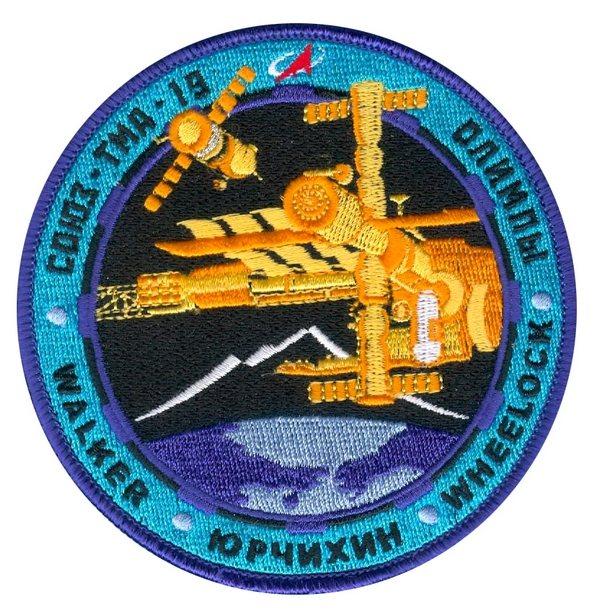 Шеврон экипажа «Союз ТМА-19»