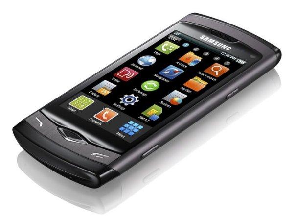 Samsung Wave S8500 - дисплей Super AMOLED