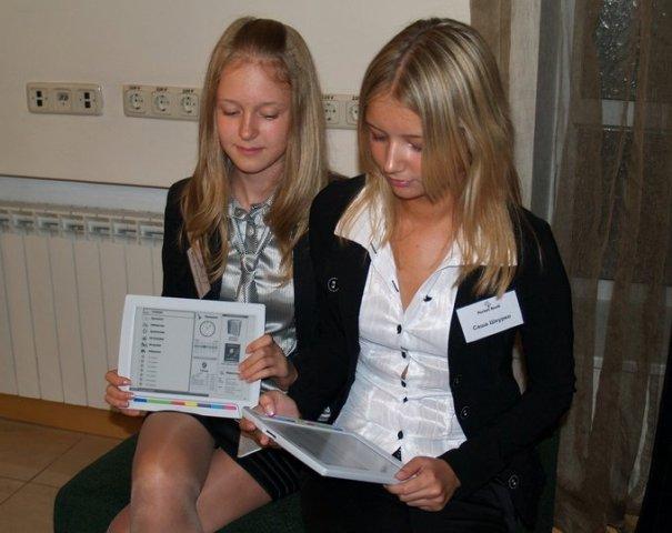 Pocketbook Education нравится школьницам