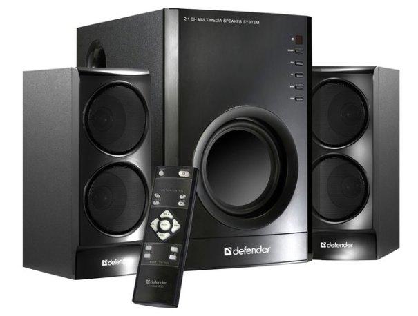 мощная акустическая система 2.1