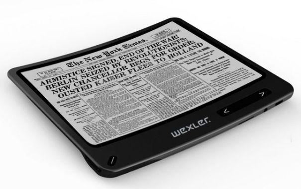 гибкая электронная книга на e-ink