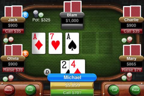 Card Master - покер для iPhone