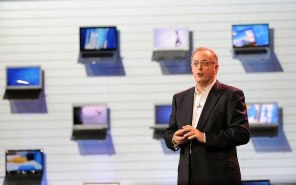 Пол Отеллини представил 75 ультрабуков