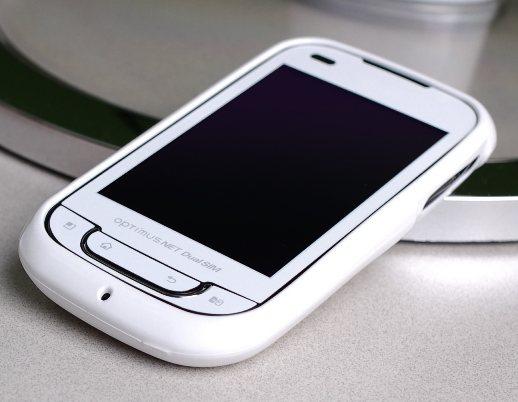 Белоснежный LG Optimus Link Dual SIM