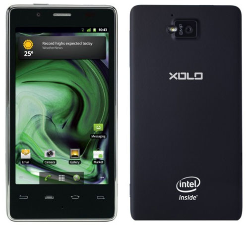 Xolo-X900 на базе Intel Atom
