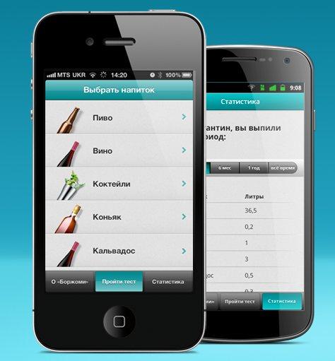 «Алкометр» для IPhone и Android