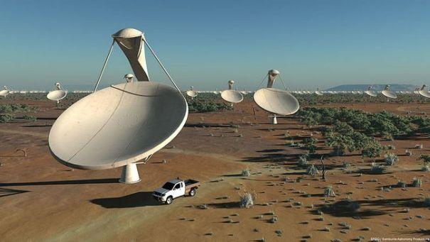 SKA радиотелескоп