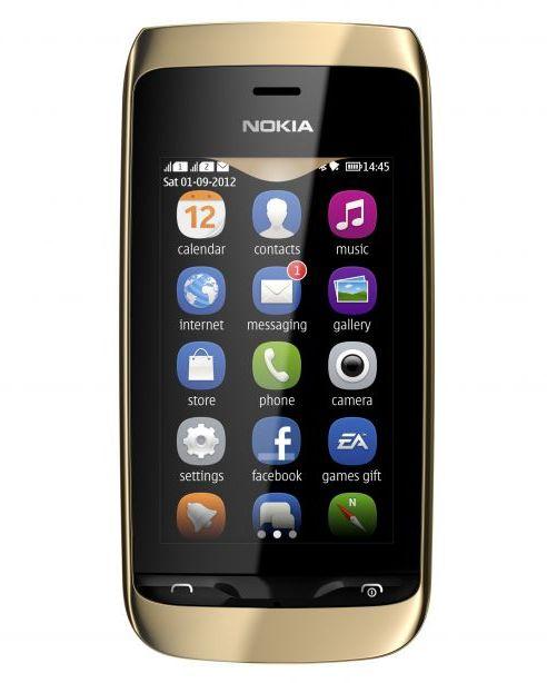 Nokia Asha 308: дешевый DualSIM-смартфон с емкостным сенсорным экраном