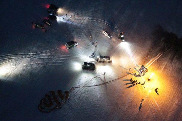 Место посадки ТПК «Союз ТМА-05М» 19.11.2012
