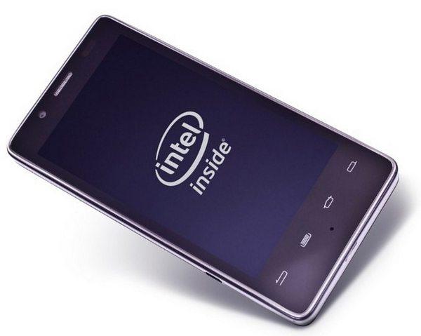 Intel смартфоны