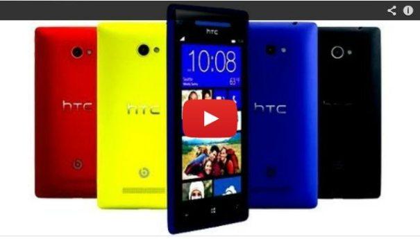 видео обзор HTC 8S на YouTube