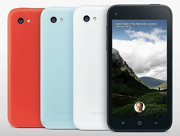 HTC First  с Facebook Home