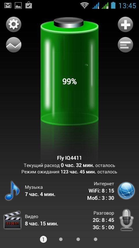 батарея Fly IQ4411