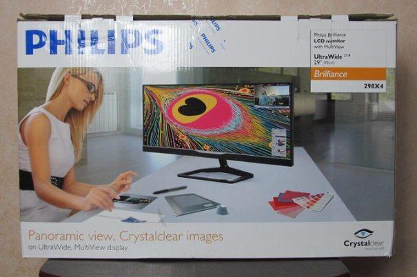 коробка Philips Brilliance 298X