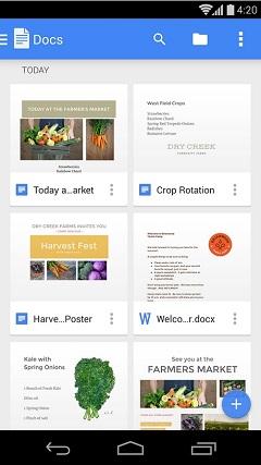 Вышли новые версии Google Docs, Google Sheets и Google Slides