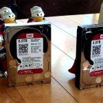 WD Red 6 ТБ для сетевых хранилищ