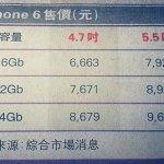 Названа стоимость iPhone 6 в Гонконге