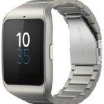 Sony объявила о начале продаж в России умных часов SmartWatch 3 с металлическим ремешком