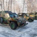 Национальная гвардия закупит 90 бронеавтомобилей Богдан Барс