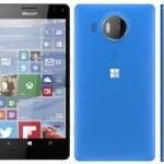 В Сети появились первые рендеры смартфонов Microsoft Lumia 950 XL и Lumia 950