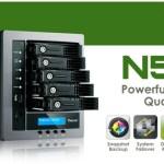 Thecus представляет новую модель N5810 в линейке сетевых хранилищ на 5 дисков