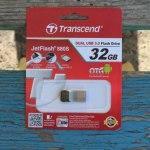 Transcend JetFlash 880S (32 ГБ): защищенная металлическая USB 3.0 – флешка для смартфона и планшетов