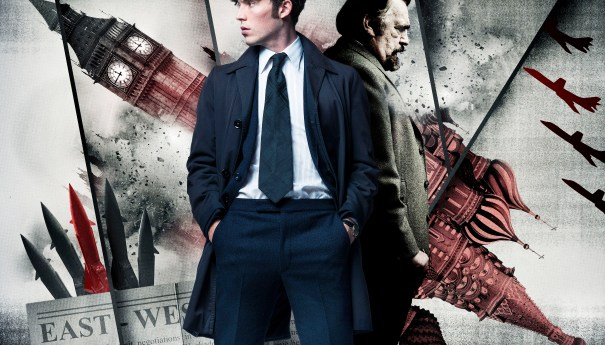 ICONIC. Picture Shows: Joe Lambe (TOM HUGHES) and Daddy (BRIAN COX)