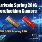 KINGMAX выпускает весеннюю линейку стильных игровых модулей памяти ZEUS DDR4