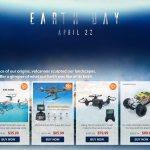 Дроны, камеры, смартфоны, планшеты и аксессуары со скидкой в преддверии Дня Земли