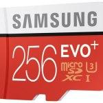Samsung Electronics представляет EVO Plus 256 ГБ – карту памяти microSD с наибольшей ёмкостью в своём классе